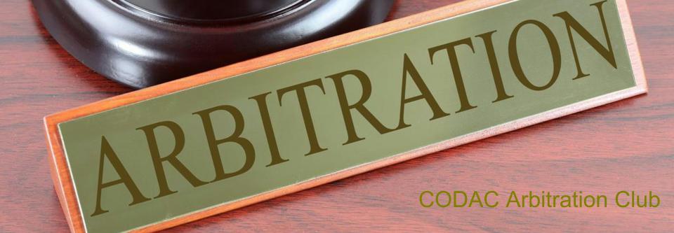 Arbitration-CODAC