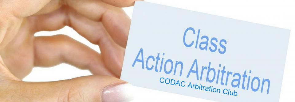 Class Action Arbitration-CODAC